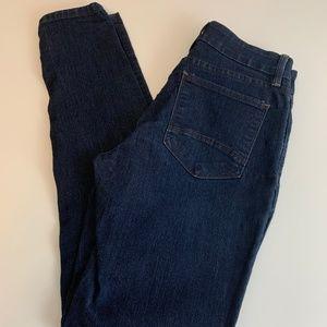 NYDJ Dark Wash Super Skinny Jeans Lift Tuck Tech